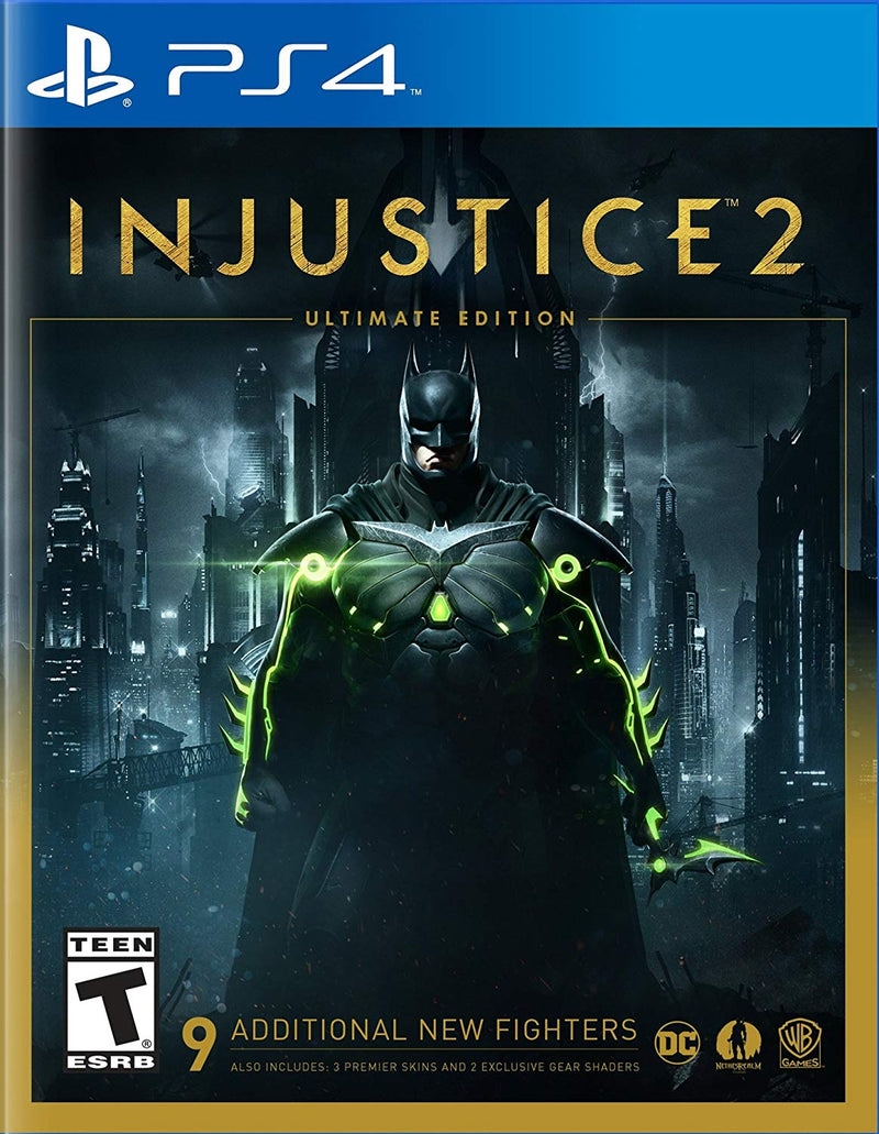 Shamy Stores Injustice 2 Ultimate Edition (PS4) PS4 Game Warner Bros. Warner Bros. egypt