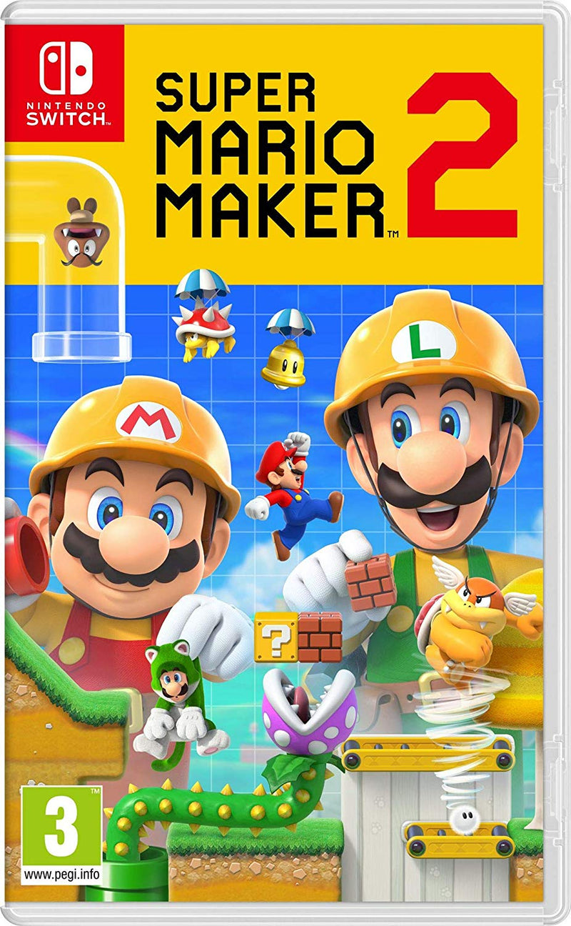 Shamy Stores Super Mario Maker 2 (Nintendo Switch) Nintendo Switch Nintendo Nintendo egypt