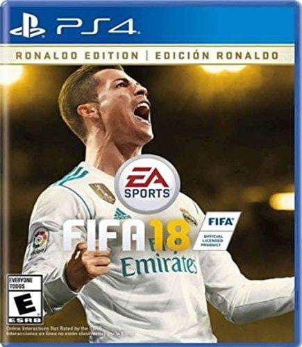 Buy FIFA 18 Ronaldo Edition (USA) PS4 Game in Egypt - Shamy Stores