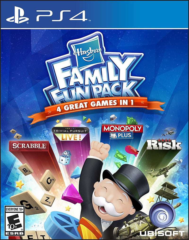 Hasbro Family Fun Pack (PS4) Used