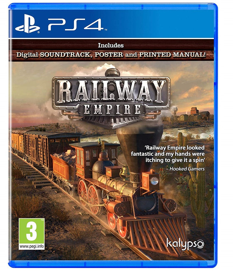 Railway Empire (PS4) Used