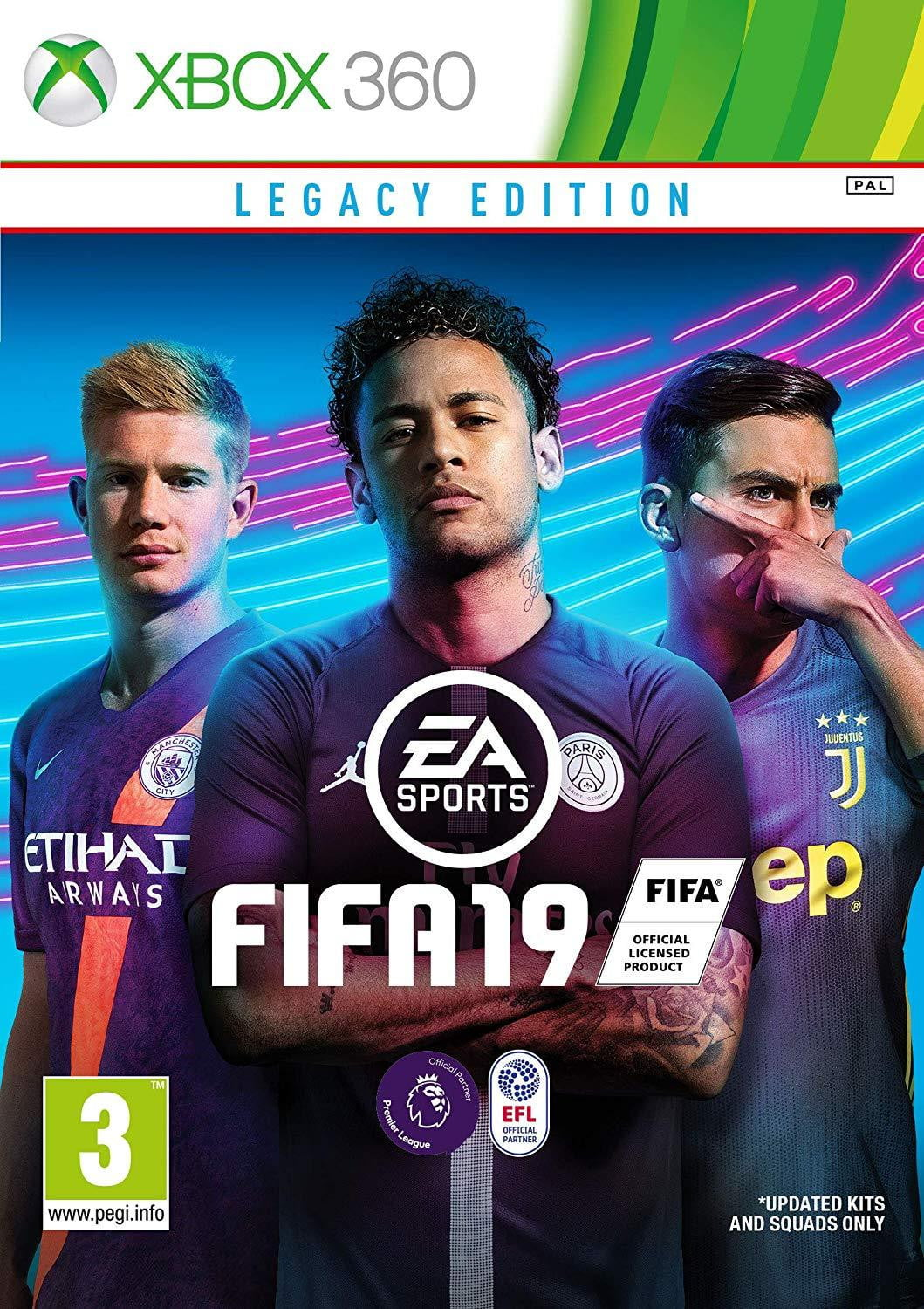 Buy FIFA 19 Legacy Edition (XBOX 360) XBOX 360 Game in Egypt - Shamy Stores