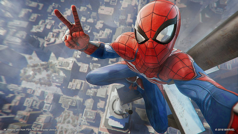 Buy Marvel's Spiderman (PS4) PS4 Game in Egypt - Shamy Stores