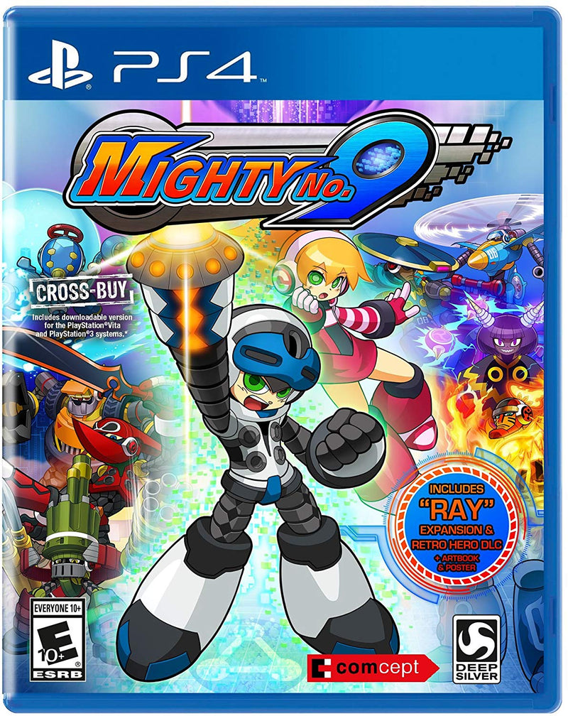Shamy Stores Mighty No. 9 (PS4) PS4 Game Deep Silver Deep Silver egypt