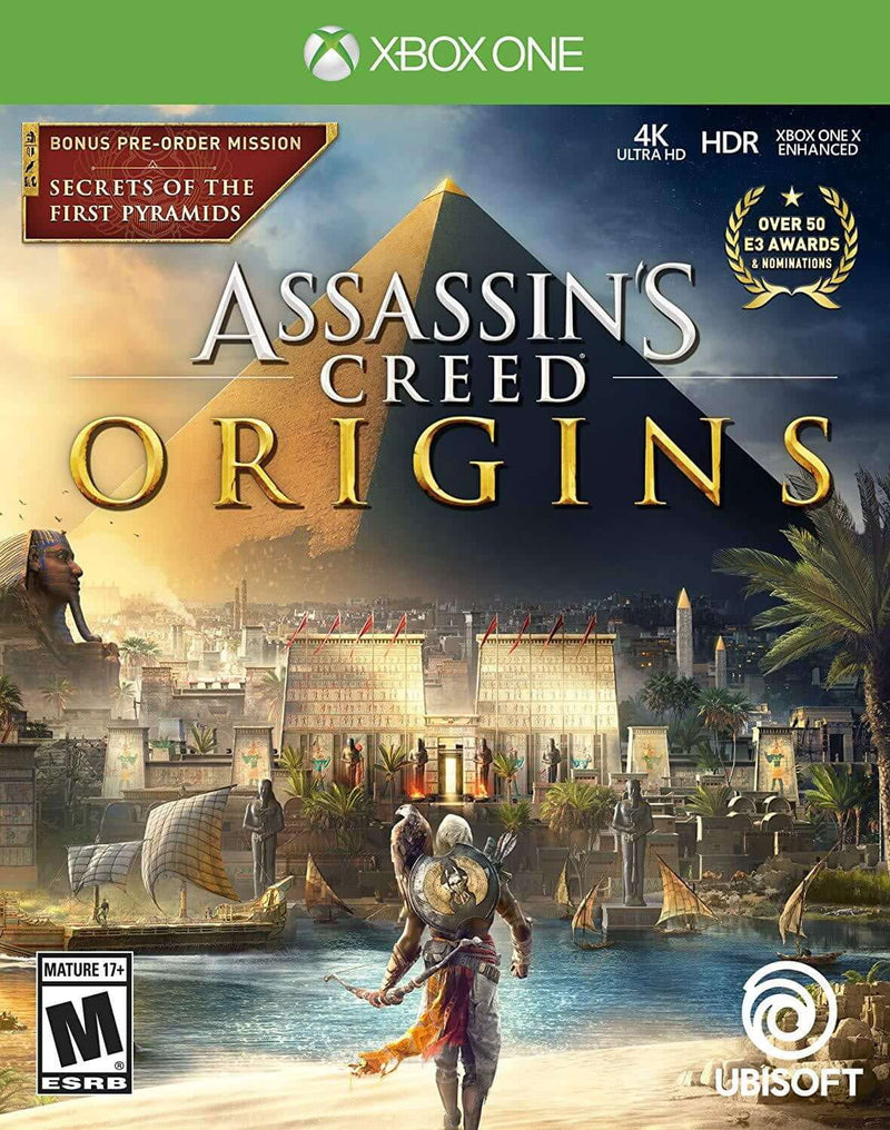 Shamy Stores Assassin's Creed Origins (XBOX ONE) XBOX ONE Ubisoft Ubisoft egypt
