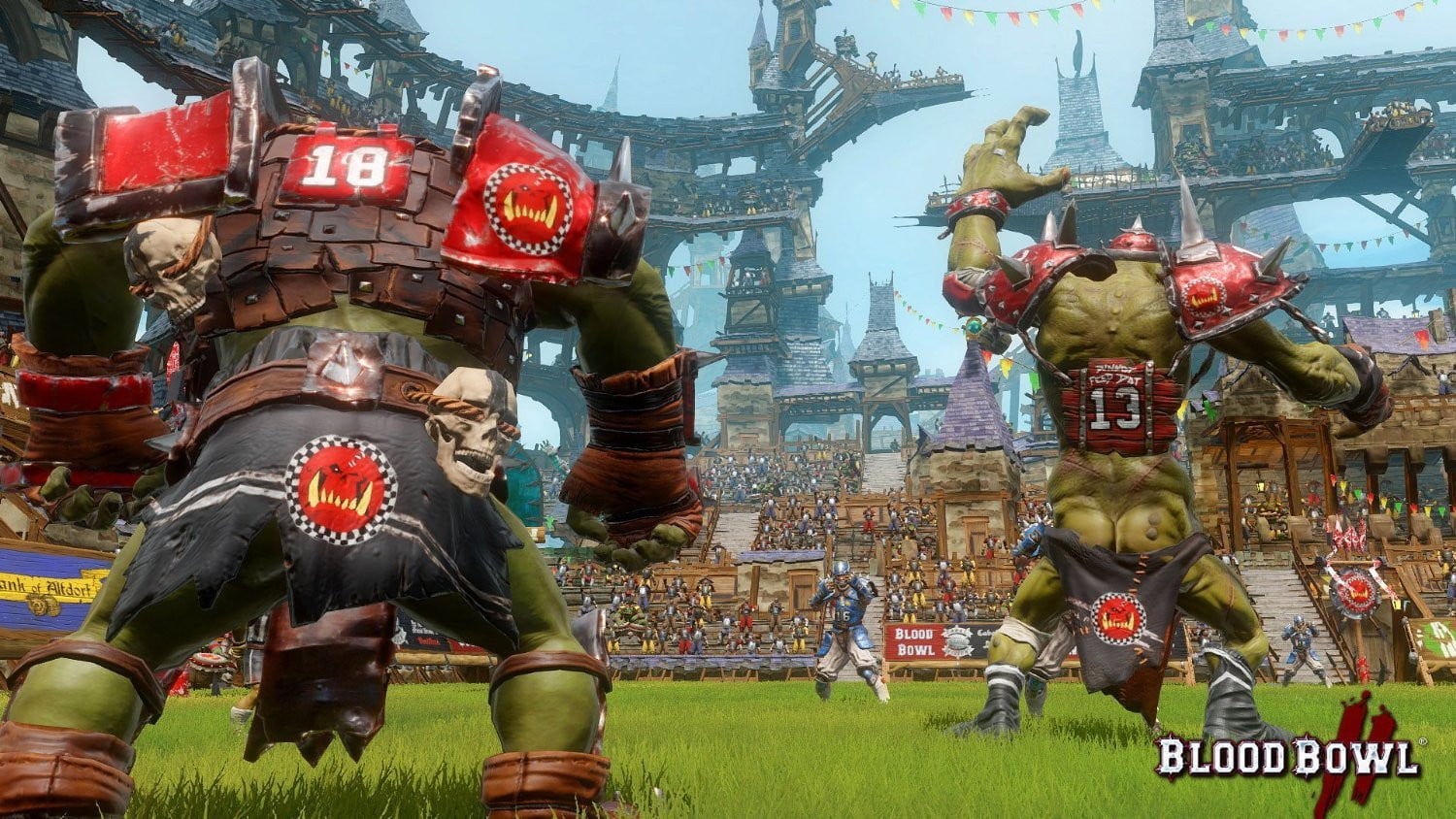Blood Bowl 2 with Steelbook(PS4) PS4 Game - Shamy Stores