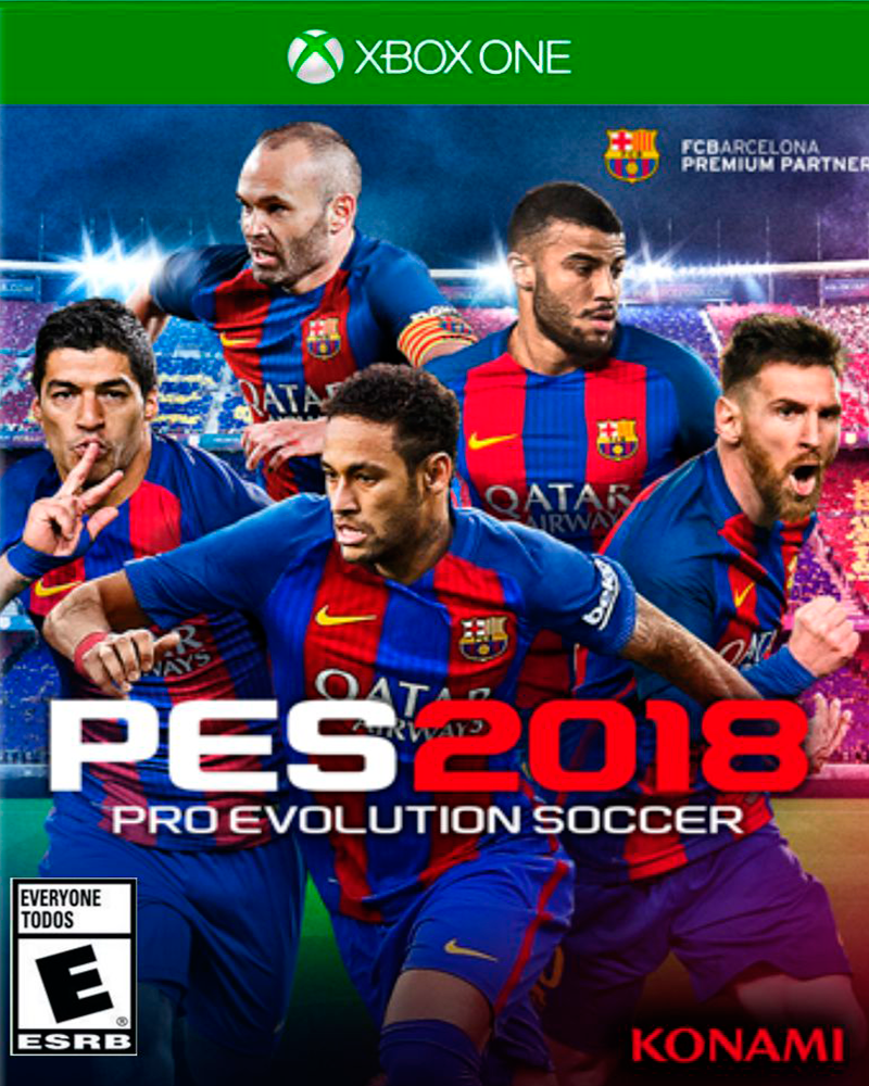 Buy Pes 18 PREMIUM (XBOX ONE) XBOX ONE in Egypt - Shamy Stores