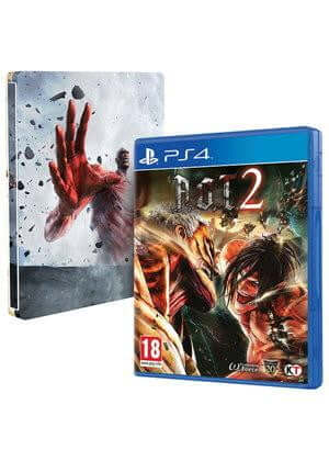 Buy Attack on Titan 2 STEELBOOK(PS4) a PS4 Game from ShamyStores - Shamy Stores