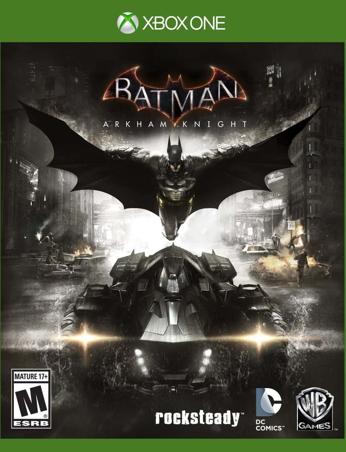 Buy Batman Arkham Knight with Harleys Revenge DLC (XBOX ONE) a XBOX ONE from ShamyStores