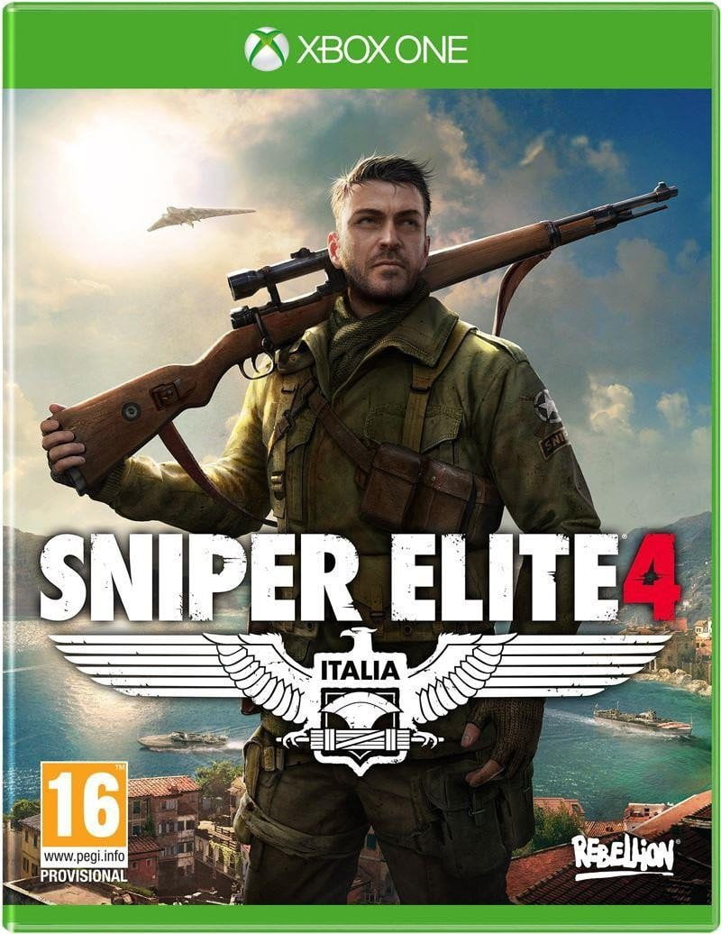 Buy Sniper Elite 4 (XBOX ONE) XBOX ONE in Egypt - Shamy Stores