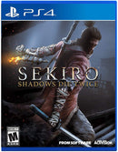 Shamy Stores Sekiro Shadows Die Twice (PS4) Used PS4 Game Activision Activision egypt