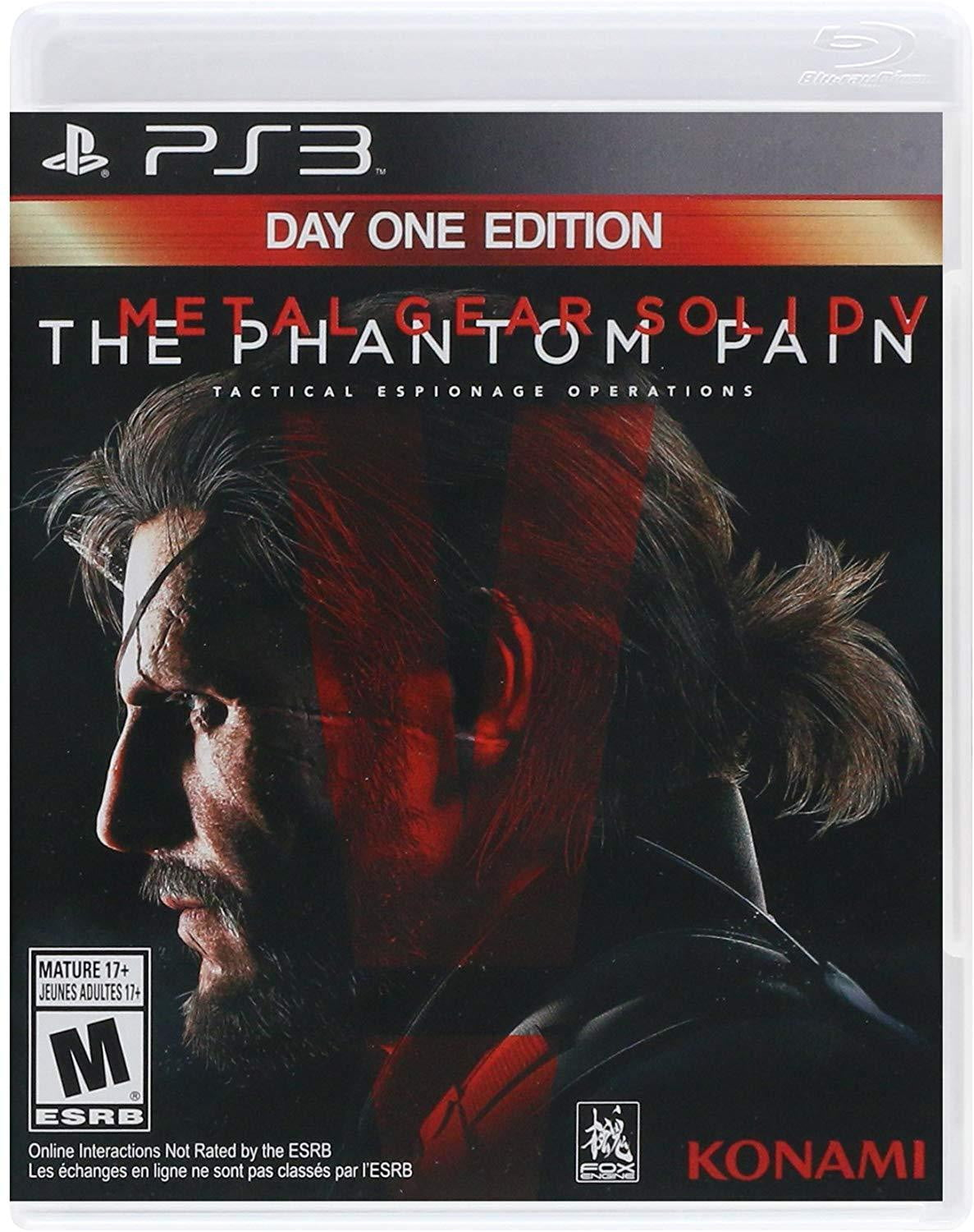 Buy Metal Gear Solid Phantom Pain (PS3) PS3 Game in Egypt - Shamy Stores