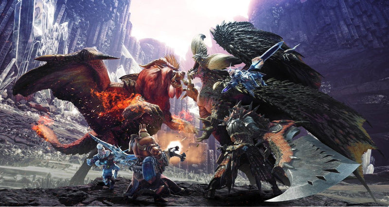 Buy Monster hunter world (PS4) PS4 Game in Egypt - Shamy Stores