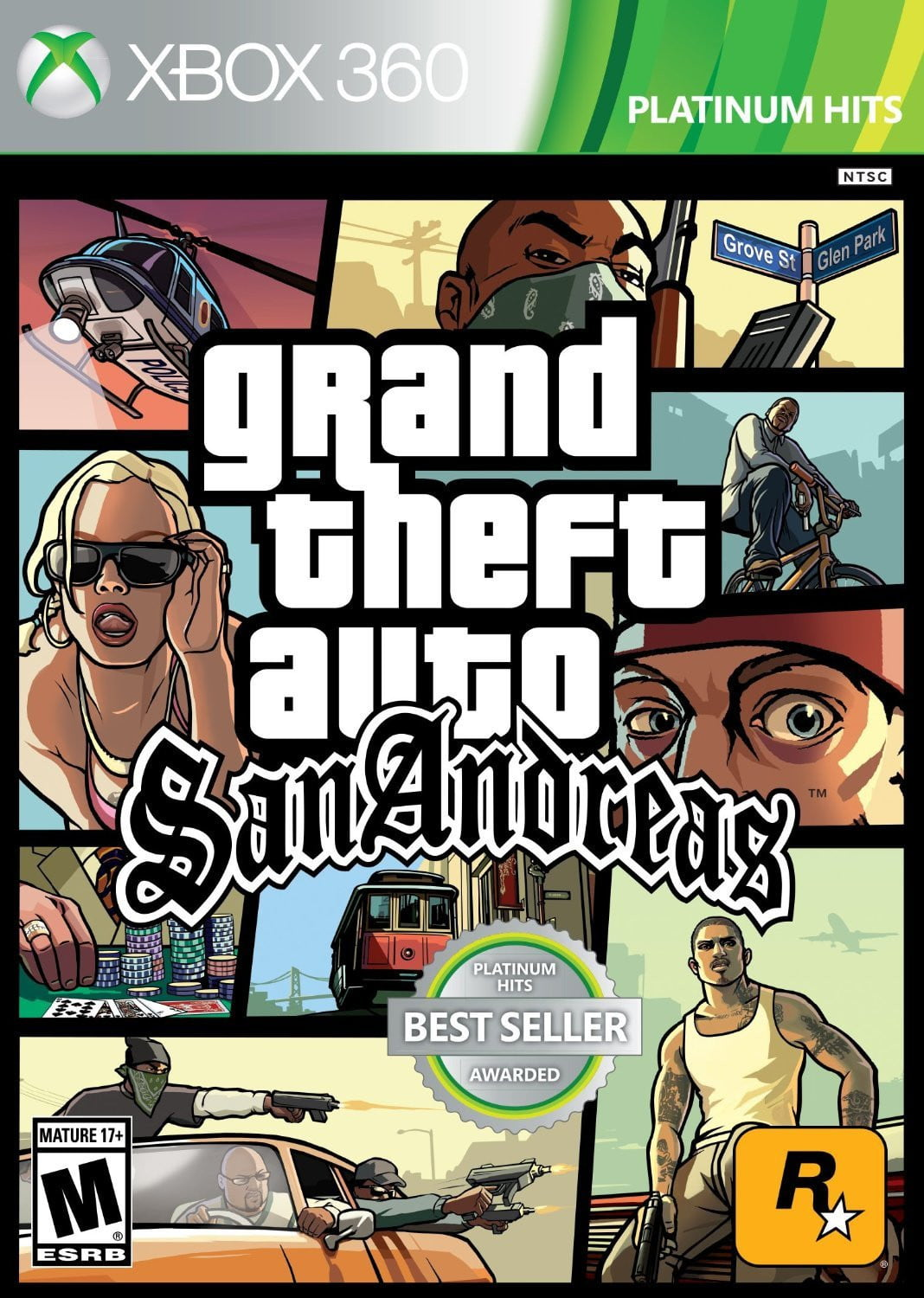 Buy GTA San Andreas (XBOX 360) XBOX 360 Game in Egypt - Shamy Stores