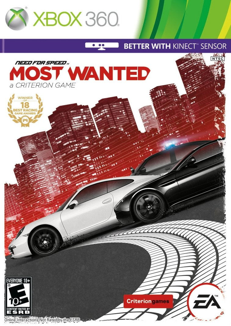 Buy NFS Most Wanted (XBOX 360) XBOX 360 Game in Egypt - Shamy Stores