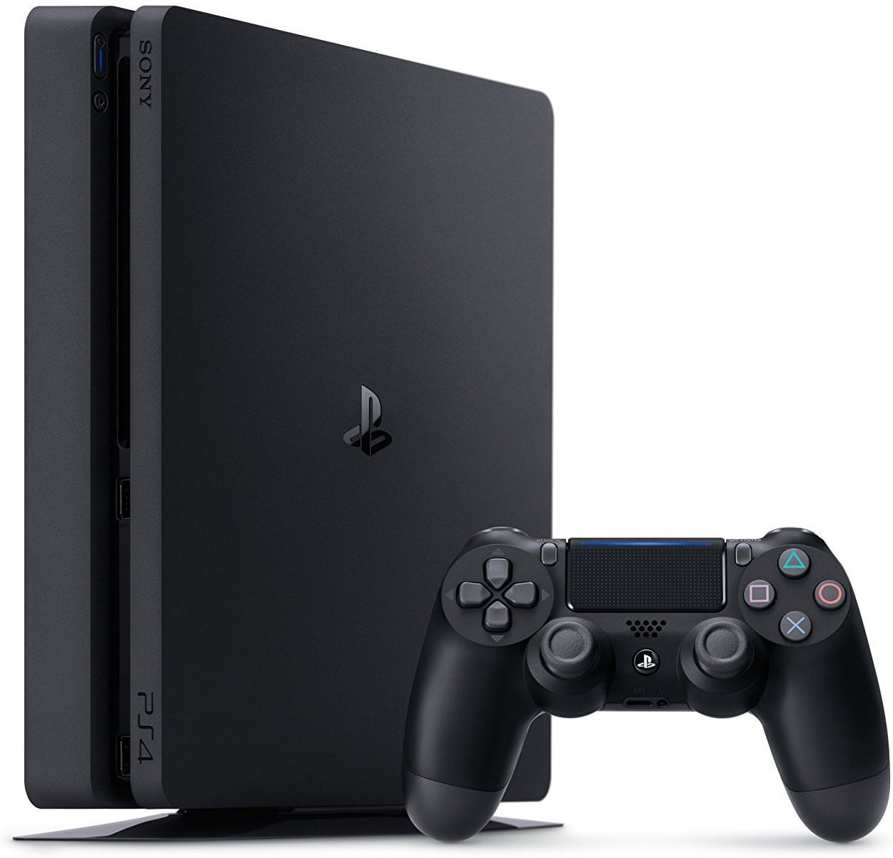 Buy PlayStation 4 (PS4) Slim 500G Black PS4 Console in Egypt - Shamy Stores