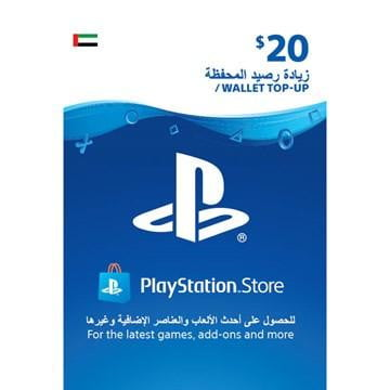 Buy Playstation Network PSN 20$ UAE Region PSN in Egypt - Shamy Stores