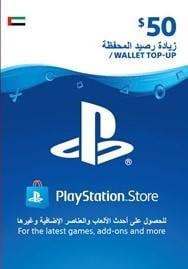 Buy Playstation Network PSN 50$ UAE Region PSN in Egypt - Shamy Stores