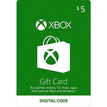 Buy XBOX Gift Card 5$ Digital Code a XBOX Digital Code from ShamyStores