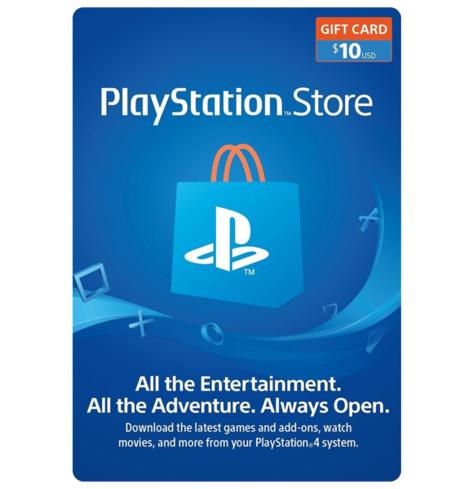 Shamy Stores PSN 10$ USA PSN Sony Sony egypt