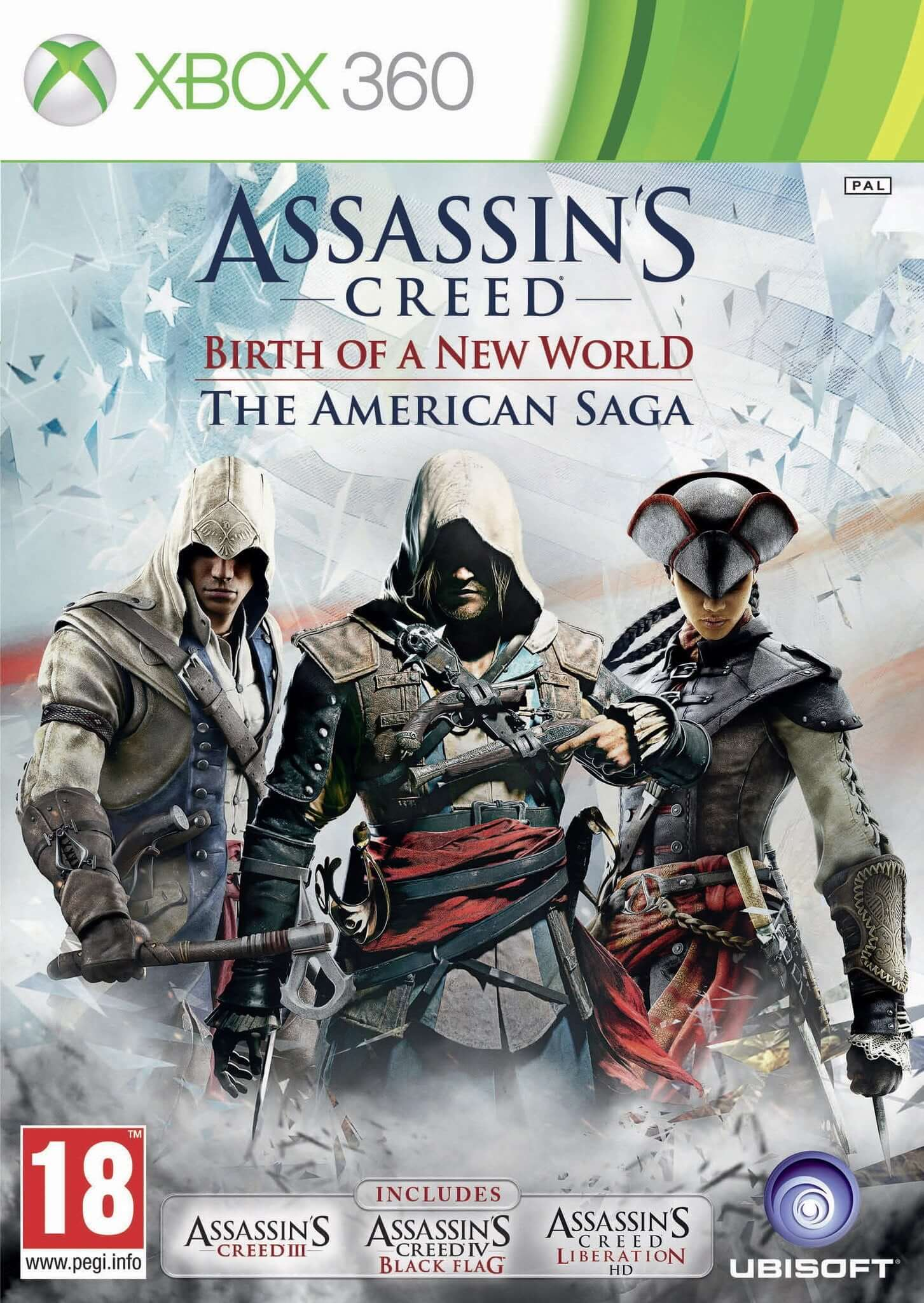 Buy Assassin's Creed Birth Of New World (XBOX 360) XBOX 360 Game in Egypt - Shamy Stores