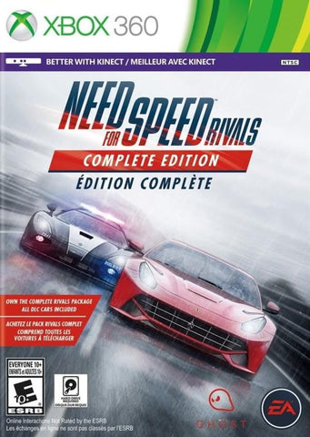 NFS Rivals : kinect