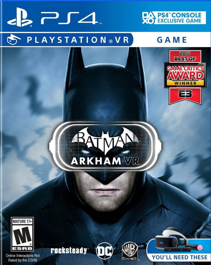 Shamy Stores Batman Arkham VR (PS4) Used PS4 Game Warner Bros. Warner Bros. egypt