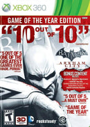 Buy BATMAN GAME OF THE YEAR EDITION (XBOX 360) a XBOX 360 Game from ShamyStores - Shamy Stores