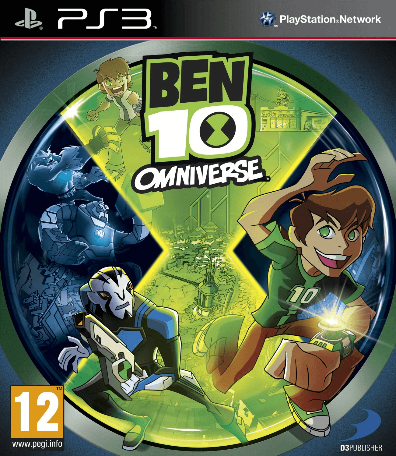 Ben 10 Omniverse 2 (PS3) PS3 Game - Shamy Stores