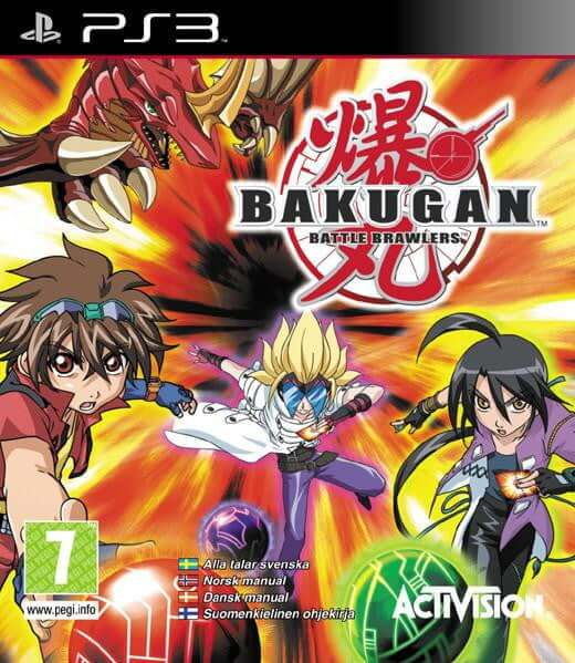 Buy Bakugan Battle Brawlers (PS3) a PS3 Game from ShamyStores