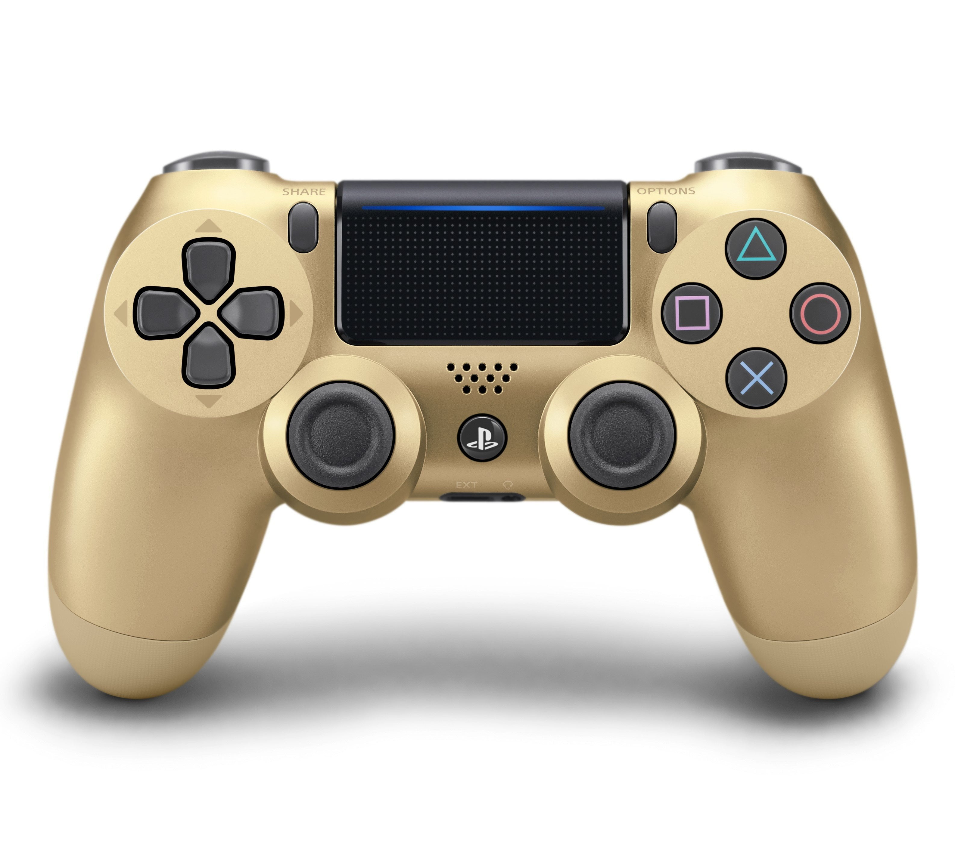 Buy PlayStation 4 (PS4) Controller Gold Accessories in Egypt - Shamy Stores