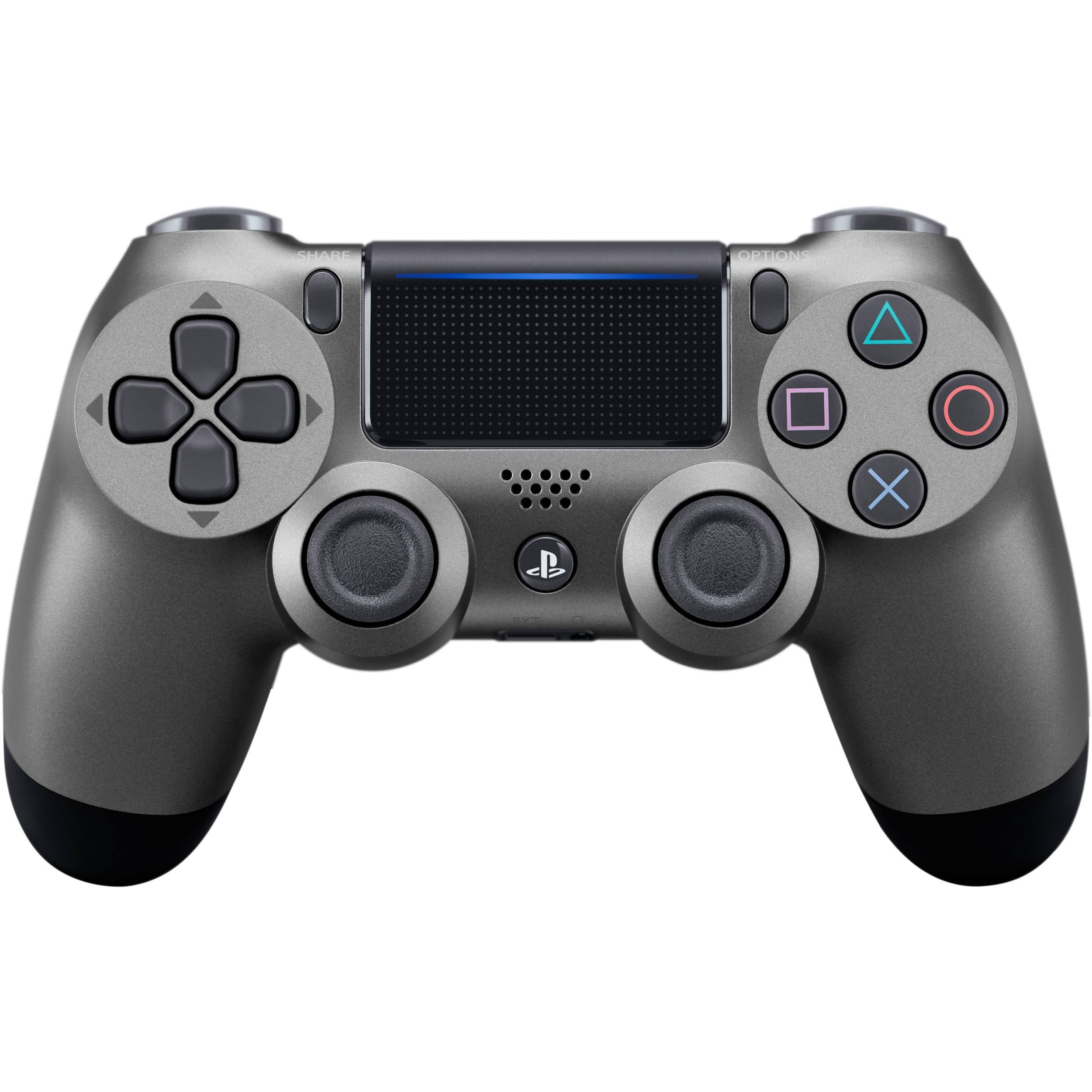 Buy PlayStation 4 (PS4) Controller Steel Black Accessories in Egypt - Shamy Stores