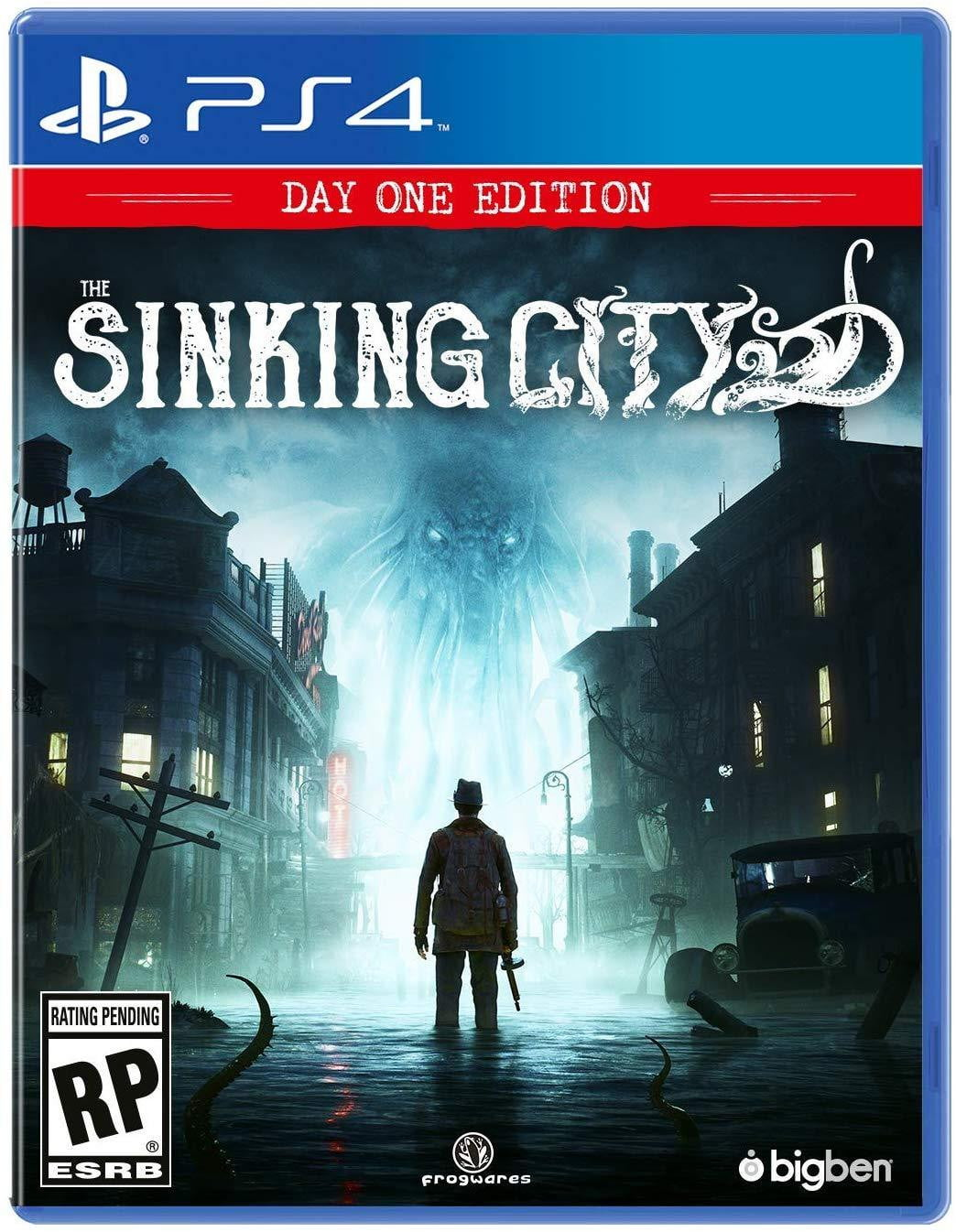 Buy The Sinking City (PS4) PS4 Game in Egypt - Shamy Stores