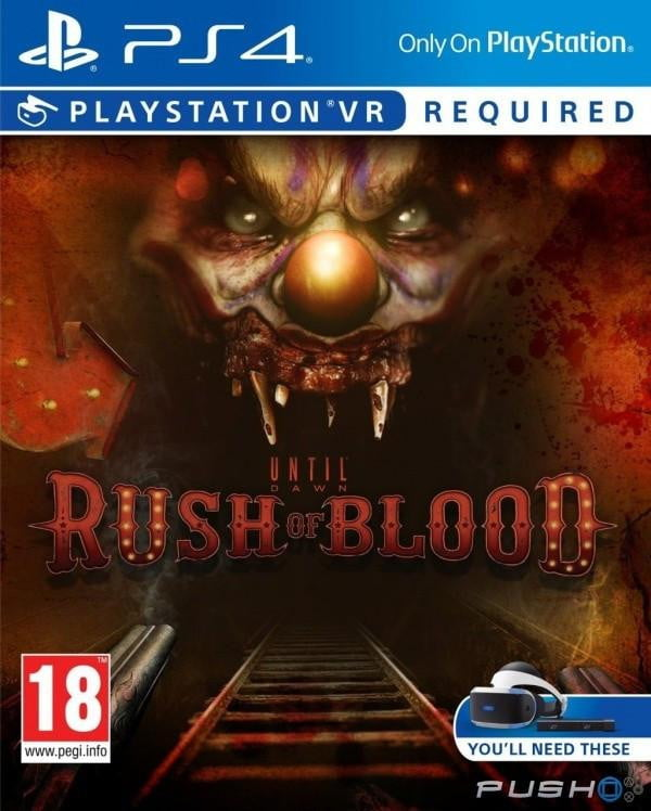 Until Dawn Rush Of Blood (VR) (PS4) PS4 Game - Shamy Stores