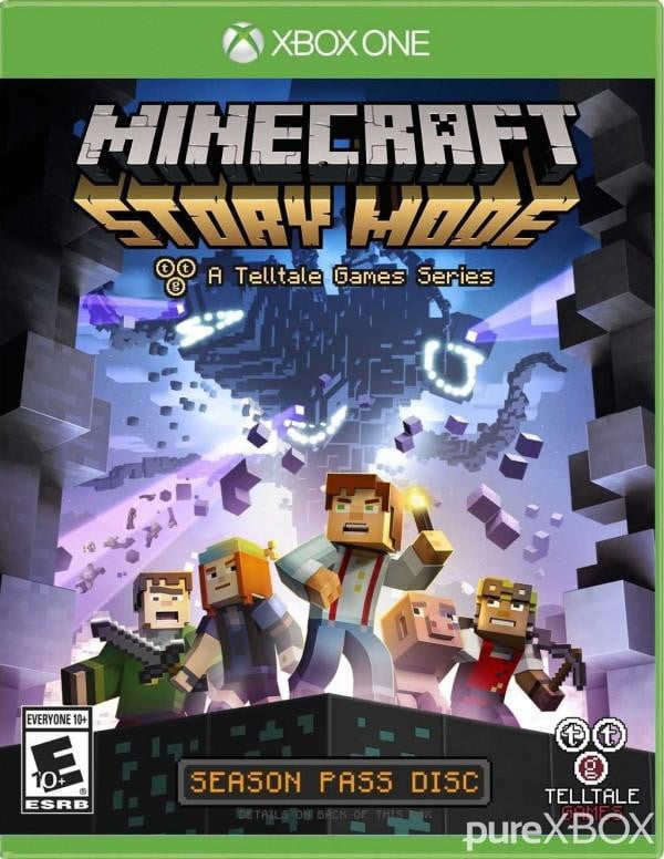 Buy Minecraft Story Mode (XBOX ONE) XBOX ONE in Egypt - Shamy Stores