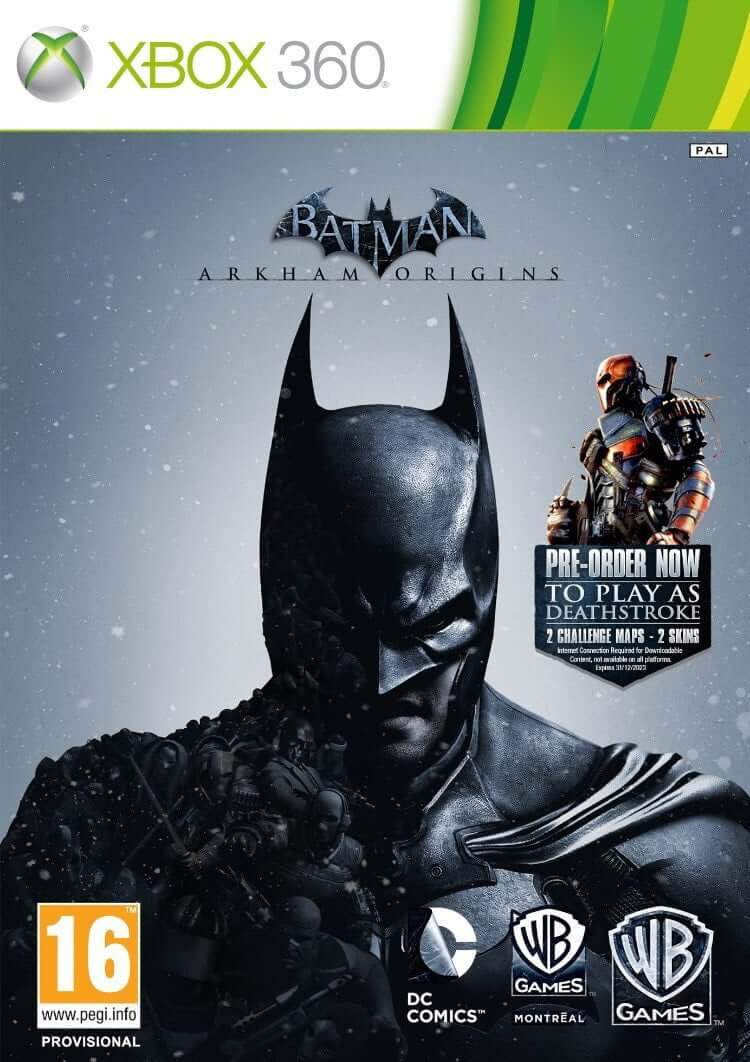 Buy BatMan Arkham Origins (XBOX 360) a XBOX 360 Game from ShamyStores