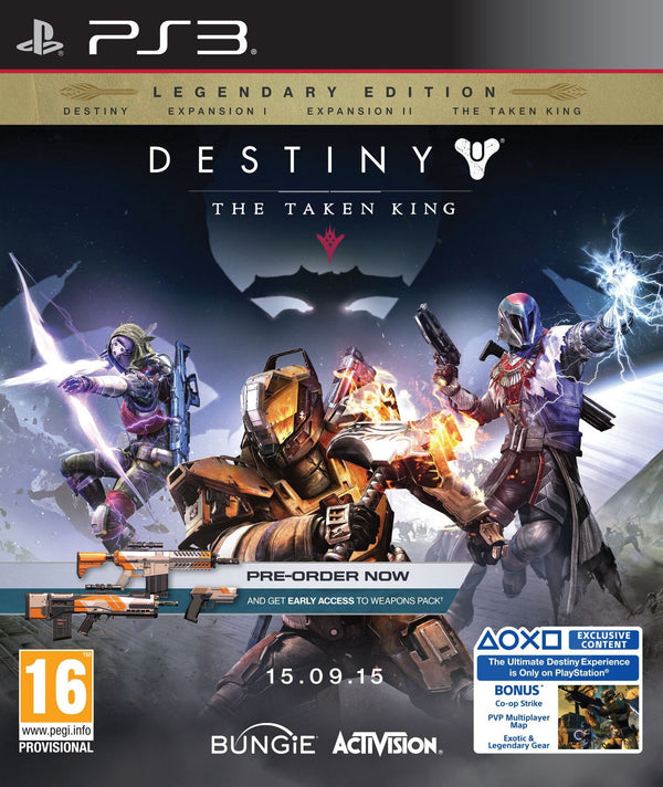 Buy DESTINY - The taken king (PS3) PS3 Game in Egypt - Shamy Stores