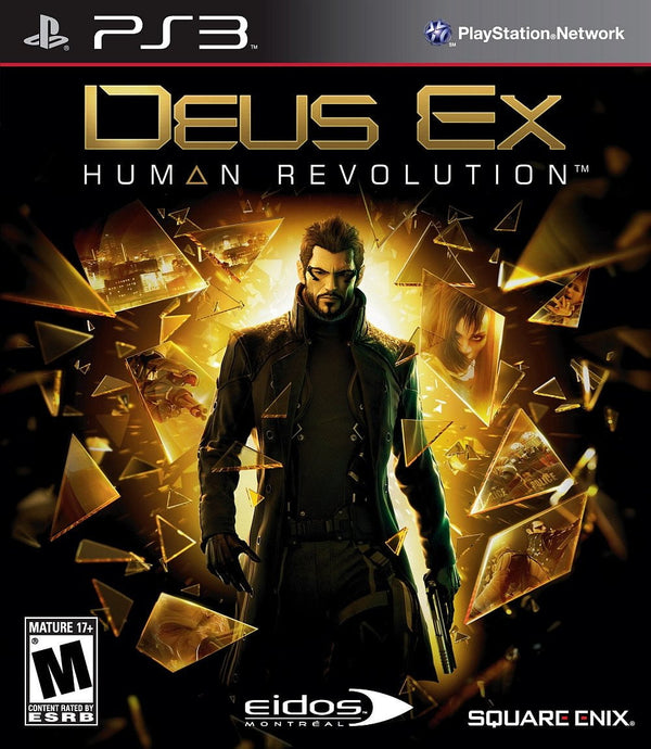 Buy Deus Ex human revolution (PS3) PS3 Game in Egypt - Shamy Stores