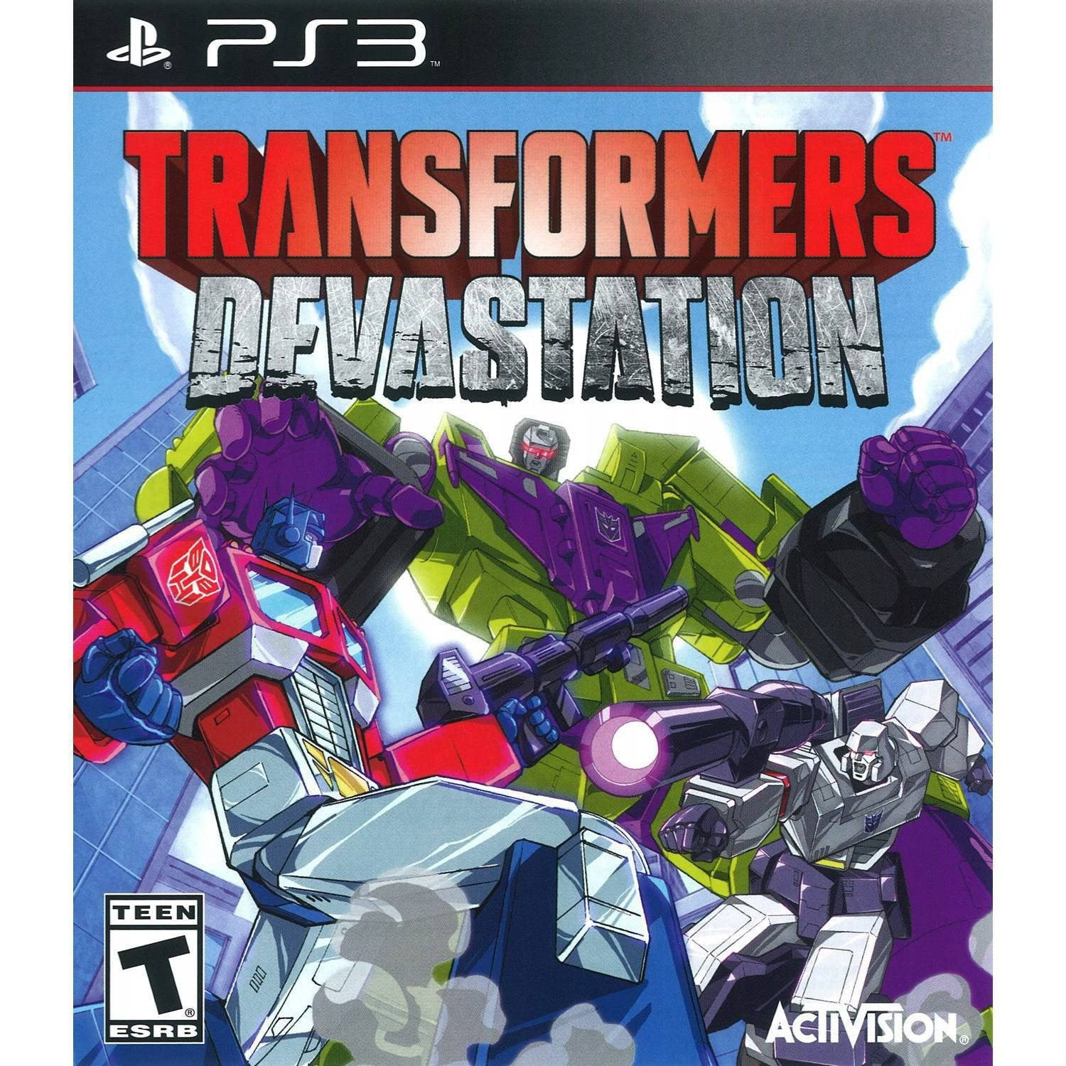 Transformers-Devastation (PS3) PS3 Game - Shamy Stores