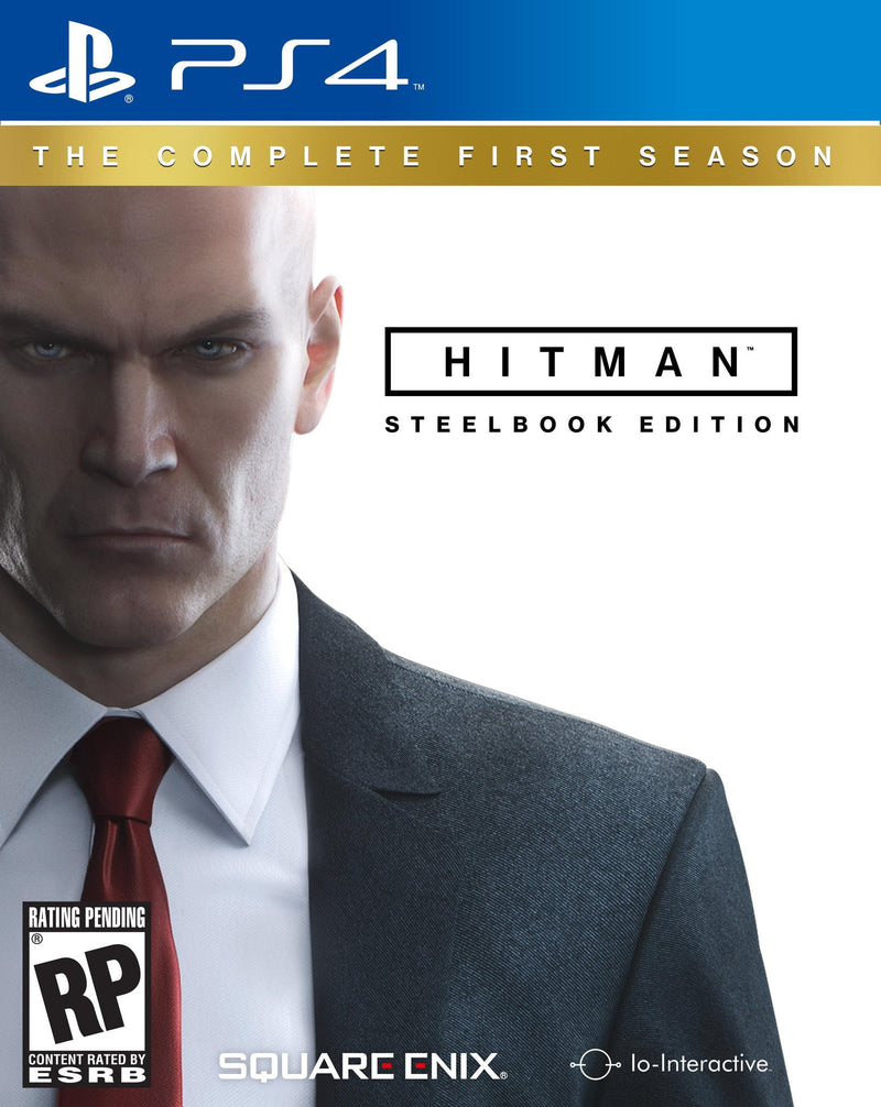 Shamy Stores Hitman Steelbook Edition (PS4) Used PS4 Game Square Enix Square Enix egypt