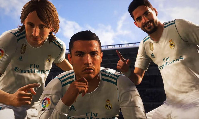Buy FIFA 18 (PS4) PS4 Game in Egypt - Shamy Stores