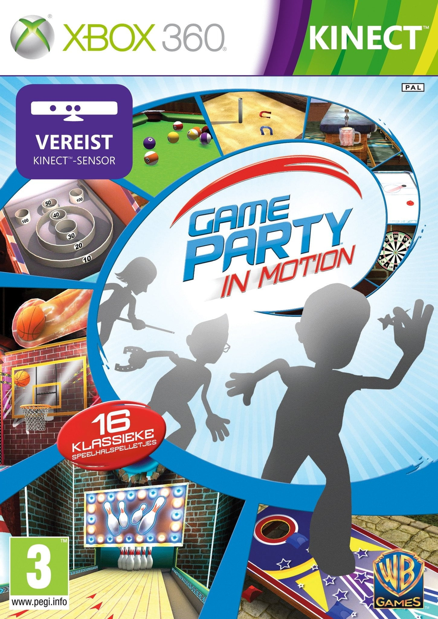 Game Party: In Motion (XBOX 360) XBOX 360 Game - Shamy Stores