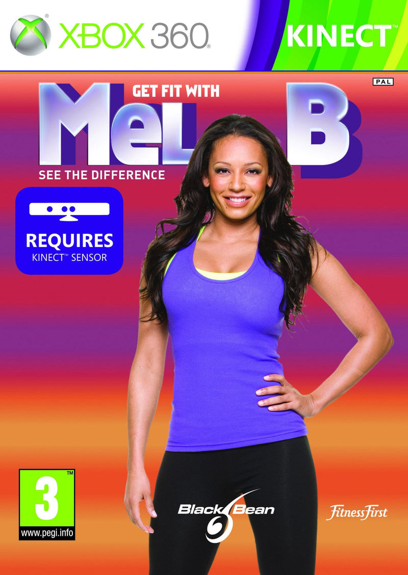 Shamy Stores Get Fit With Mel B (XBOX 360) XBOX 360 Game Microsoft Microsoft egypt