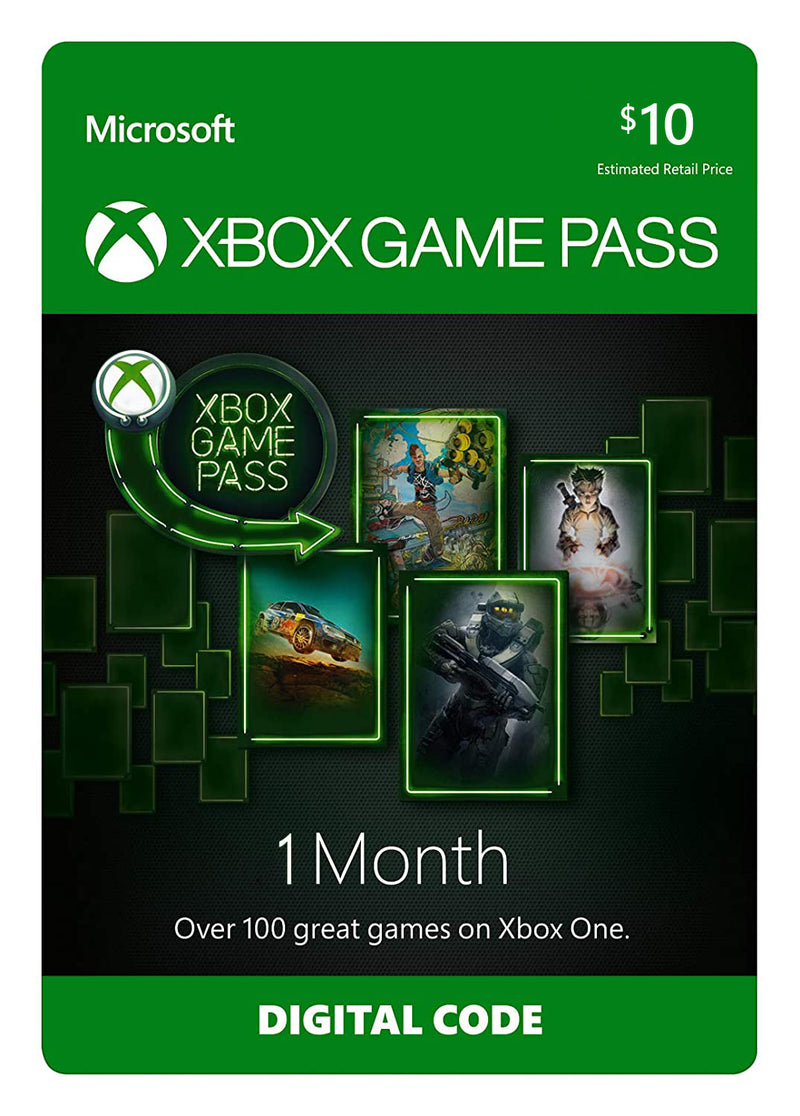 Xbox Game Pass 1 Month - Shamy Stores