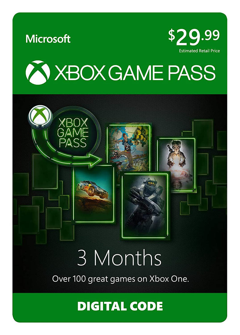Xbox Game Pass 3 Months - Shamy Stores