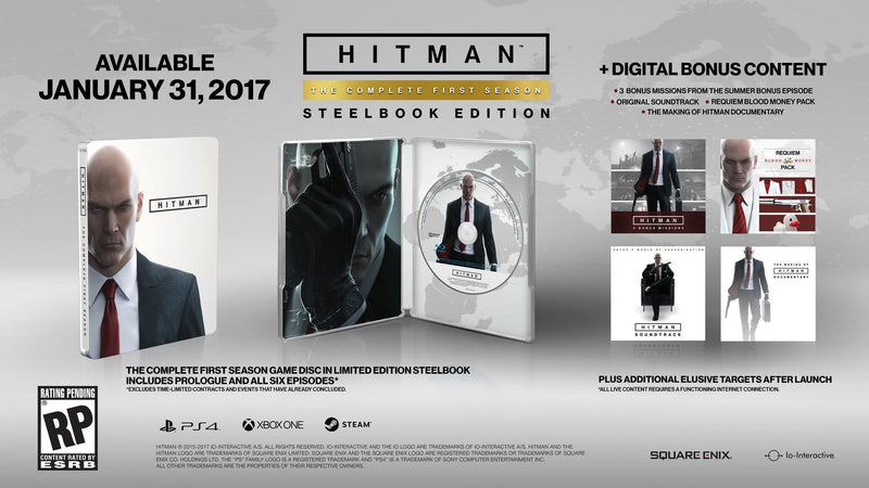 Buy Hitman Steelbook Edition (PS4) PS4 Game in Egypt - Shamy Stores