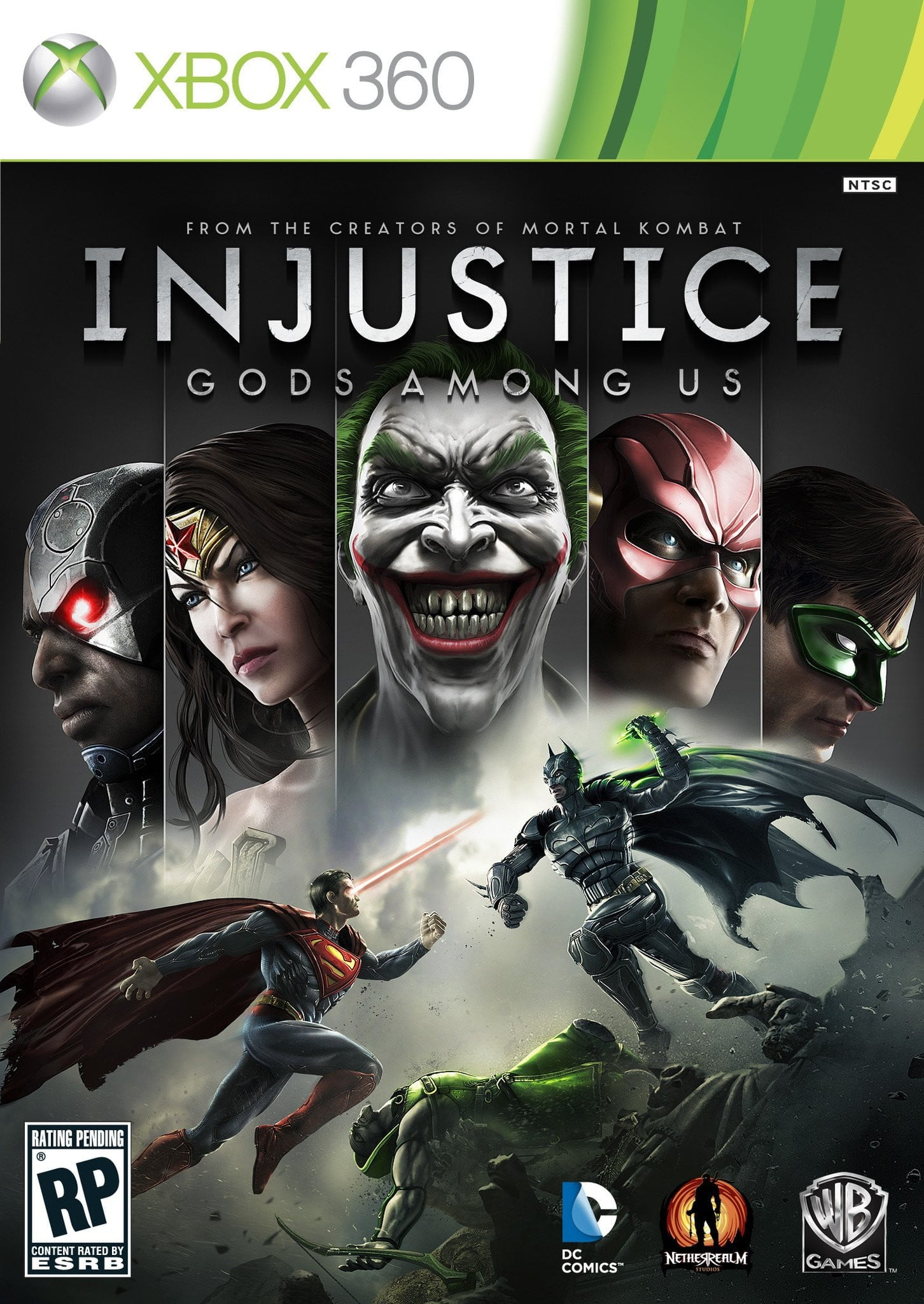 INJUSTICE : Gods Among Us (XBOX 360) XBOX 360 Game - Shamy Stores