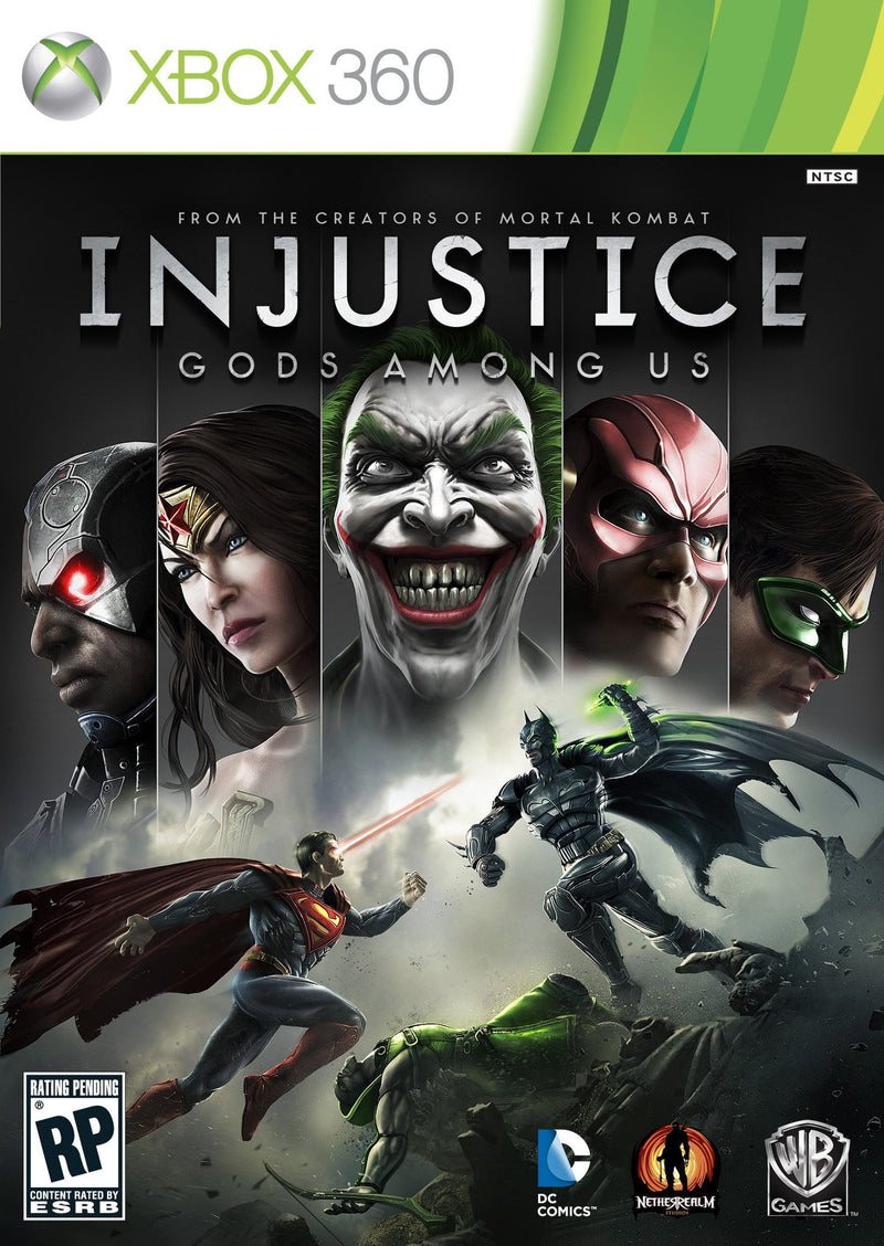 Buy INJUSTICE : Gods Among Us (XBOX 360) XBOX 360 Game in Egypt - Shamy Stores