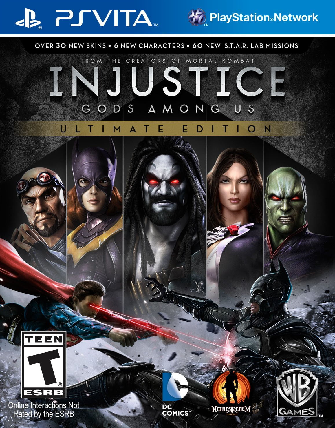 Injustice: Gods Among Us PS Vita - Shamy Stores