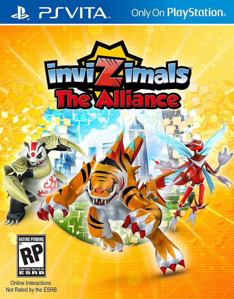 Invizimals The Alliance PS Vita - Shamy Stores